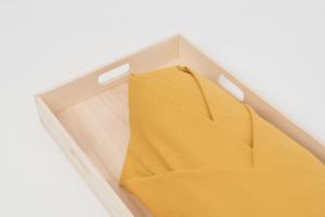 Gekleurde lijkwade Soft Yellow 580