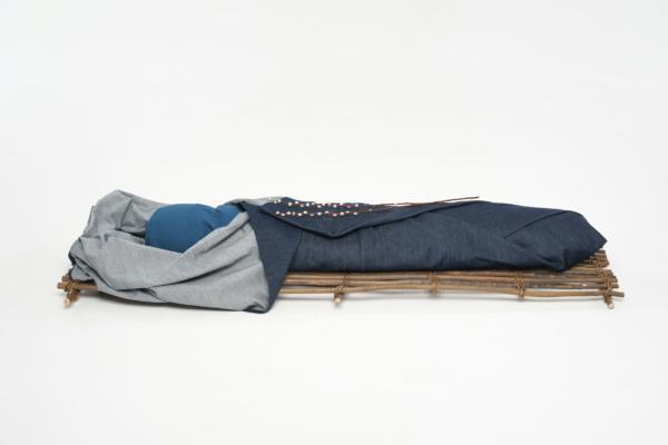 Spijkerstof lijkwade - Takkenbaar - Wikkelgoed 3