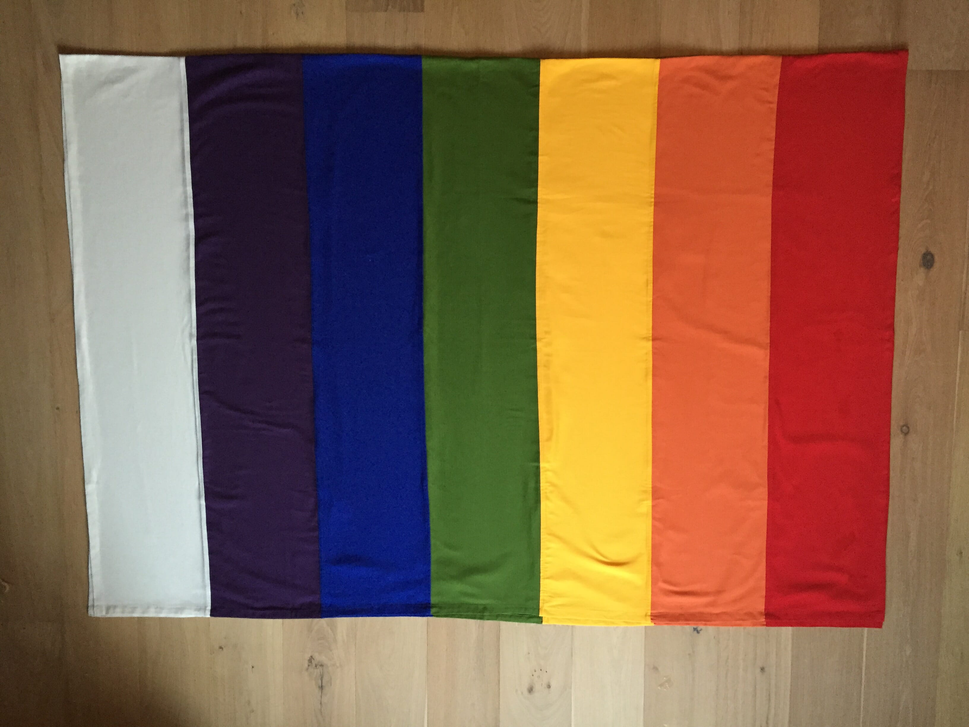regenboog lijkwade